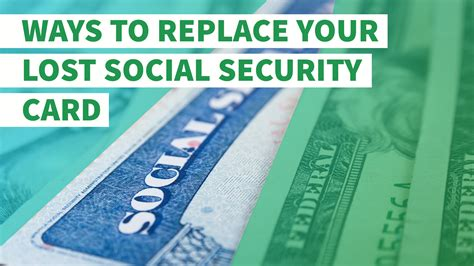how to make a social security card 4 ways to replace your lost social security card