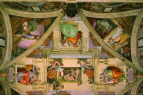 Michelangelo The Sistine Chapel Ceiling 171 Ceiling Systems Sistine Chapel Ceiling Pictures