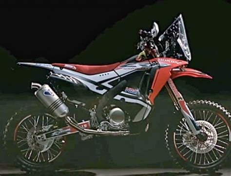 Motorrad Unfall Ktm by Honda Crf450 Rally Das 2014er Rallye Dakar Motorrad