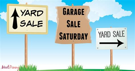 What Sells At Garage Sales by What To Sell At A Yard Sale Meet