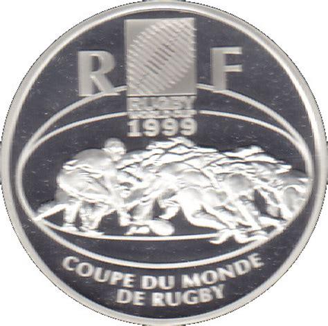 10 francs coupe du monde de rugby 1999 numista