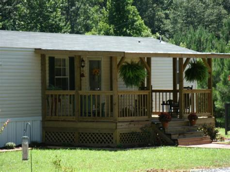 simple front porch designs in manufactured home porch design