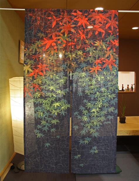 japanese noren curtains noren japanese door curtain maple ebay
