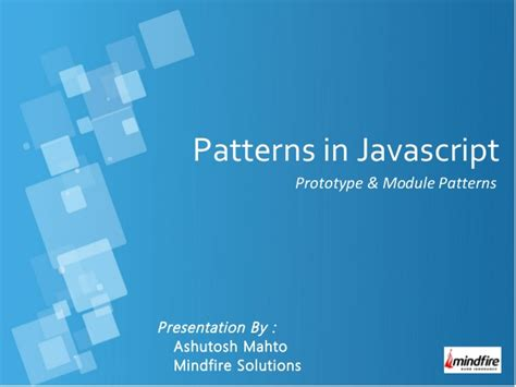 pattern en javascript patterns in javascript
