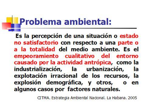 el problema de los problemas ambientales eco life