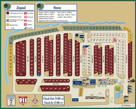 Pit Room Campground Map River Plantation Rv Park