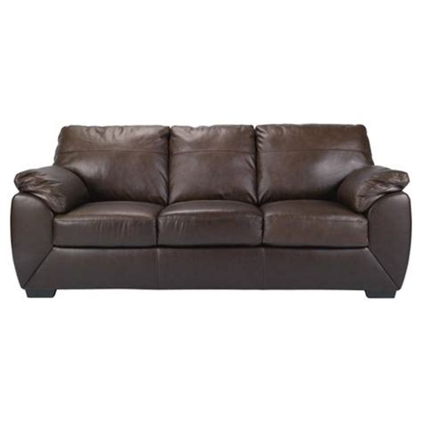 Tesco Sofa Beds Buy Alberta 3 Seater Leather Sofa Bed Chocolate From Our Sofa Beds Range Tesco