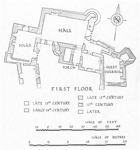 hever castle floor plan weobley