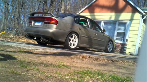 custom subaru legacy 2000 subaru legacy gt limited custom exhaust pt 1 youtube