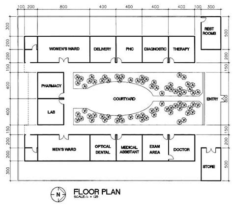 clinic floor plans the mother maryam foundation clinic project floor plan