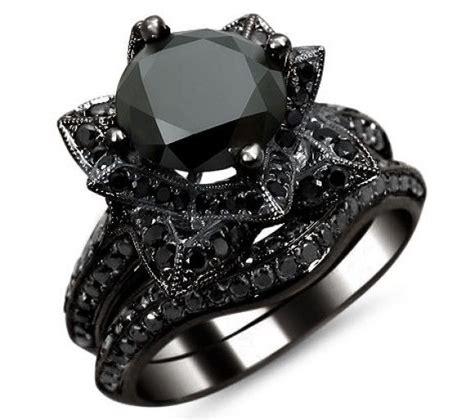 best 25 black rings ideas on black jewelry