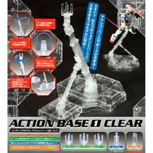Base Gundam Sparkle Clear accesorios y revistas omega center madrid