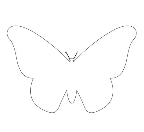 templates printable free free printable butterfly template template update234