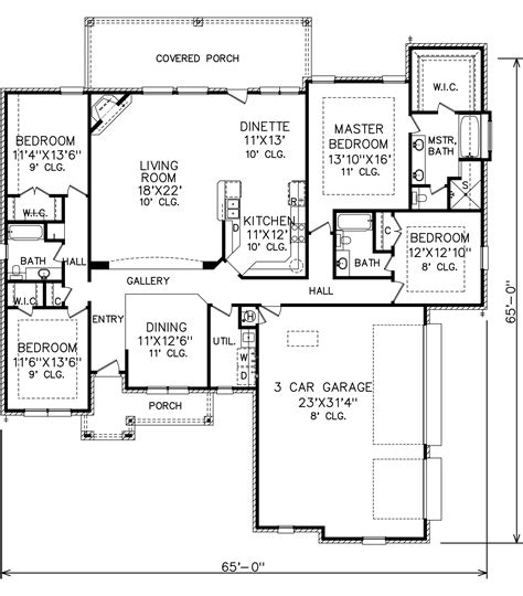 perry home plans floor plan 6213 2