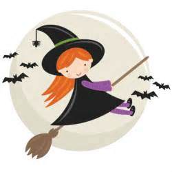 cute flying witch svg cut file halloween svg cut files
