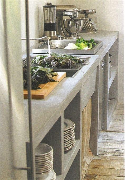 Picture Of Minimalist Concrete Kitchen Countertops Concrete In Kitchen