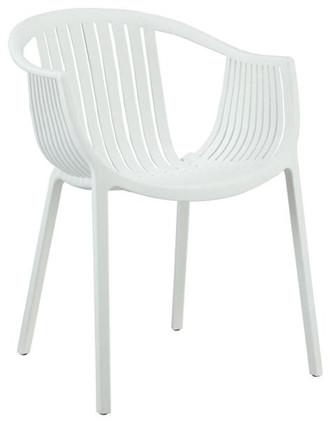 Plastic Outdoor Dining Chairs Hammock White Plastic Stackable Outdoor Modern Dining Chair Modern Outdoor Dining Chairs