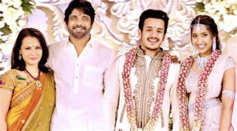 actor nagarjuna son akhil nagarjuna s son akhil akkineni shriya bhupal call off may