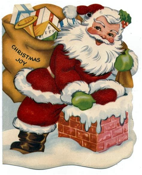 free clip from vintage crafts 187 santa claus
