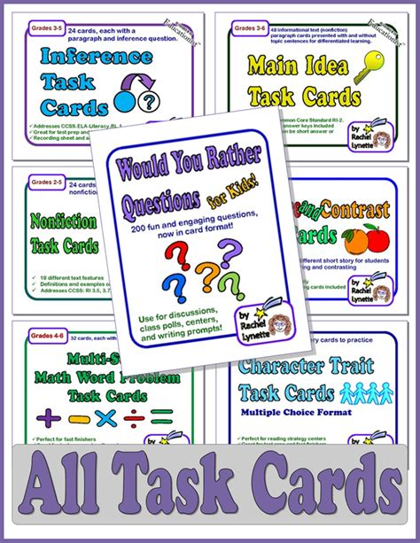 task cards buy task cards task cards