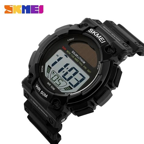 Skmei Jam Tangan Kompas Digital Pria 1289 skmei jam tangan digital pria dg1126 black jakartanotebook
