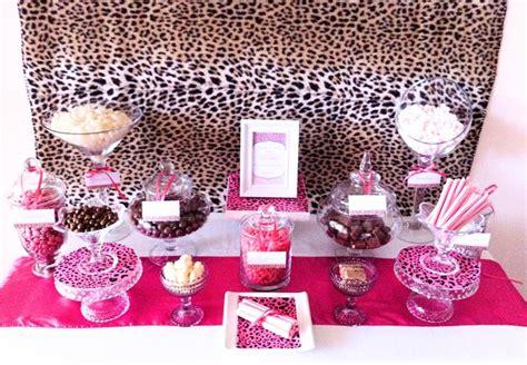 brown pink cheetah print birthday ideas photo 1