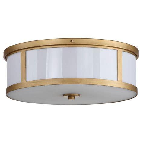 home depot drum light safavieh avery ceiling drum 2 light antique gold