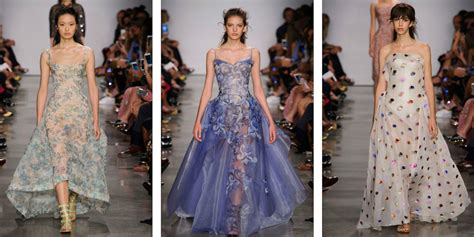 latest trends for 30 year olds zac posen at new york fashion week ss17