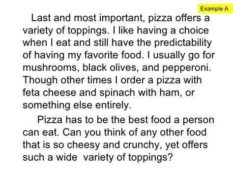 My Favorite Restaurant Essay by Writing To Explain Why Using Thinking Maps