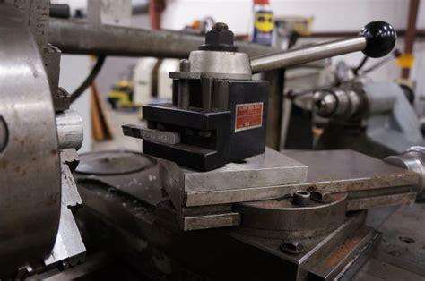 Aloris tool post too large for lathe ? (photo) Dorian Tool