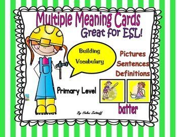 17 best images about esl and eld ideas on pinterest