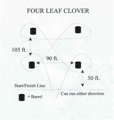 clover leaf pattern horses 24 best barrel racing drills images on pinterest horse