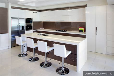 two tone modern kitchen perfectly balanced two tone kitchen design completehome