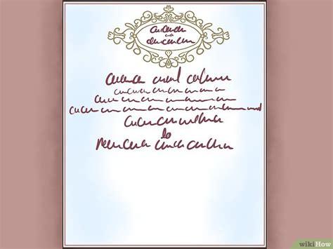 lettere ufficiali modelli come scrivere un invito formale 10 passaggi