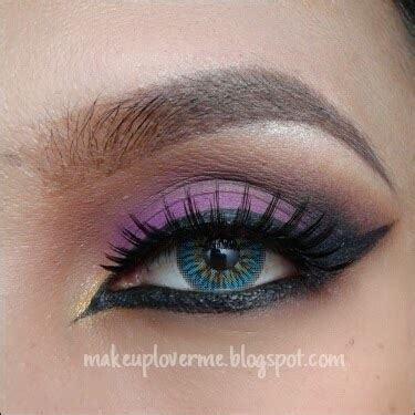 Eye Liner Pensil La Tulipe make up lover me dramatic purple eye makeup tutorial