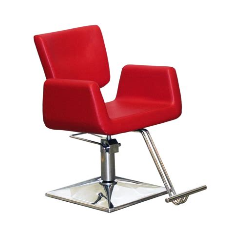 deco salon furniture  deco charlotte styling chair red high design  prices ph