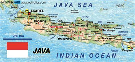 Republik Indonesia Propinsi Djawa Tengah peta pulau jawa