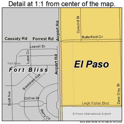 map of fort bliss texas ft bliss map pictures to pin on pinsdaddy