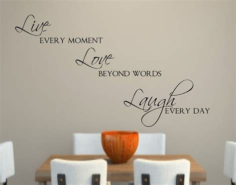 live laugh love wall decor live love laugh vinyl wall decal decor lettering words for the