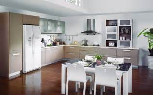 Interior Design Kitchen Room Dining Room And Kitchen Cabinets Design Picture 3d House