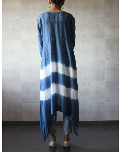 Batik Cape 2 blue batik cape by the label studio the secret label
