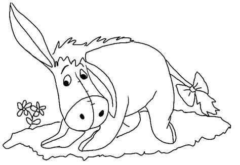 cute eeyore coloring pages coloring kids cartoon cute disney quot eeyore