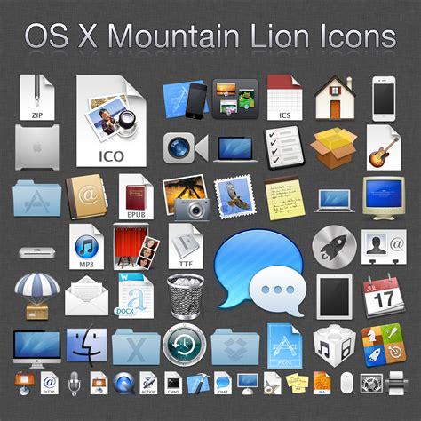 x theme list of icons 500 mountain lion icons ico by mrwhiteeye on deviantart