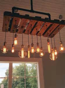home decor lighting ideas chandeliers made out of pallets pallet wood projects
