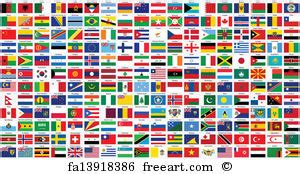 free printable flags of the world poster free art print of alphabetical world flags alphabetical