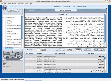 Indeks Hadits Program Software Ensiklopedi Hadis