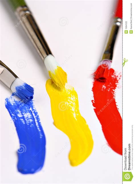 get paint primary colors stock photography image 1564122