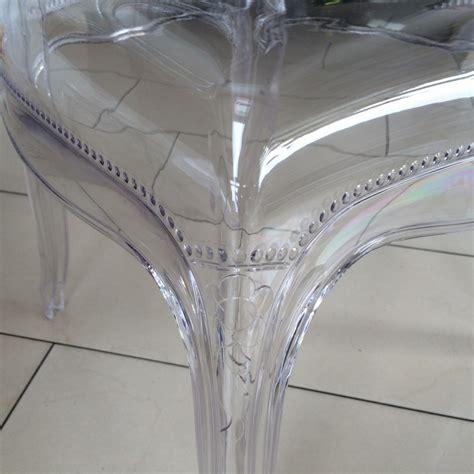 stuhl polycarbonat transparent stuhl barock aus polycarbonat transparent