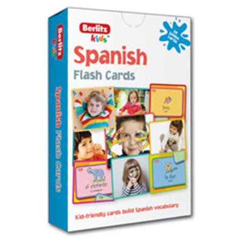 spanish flash kids flash berlitz kids french flashcards 9781780044644 little linguist