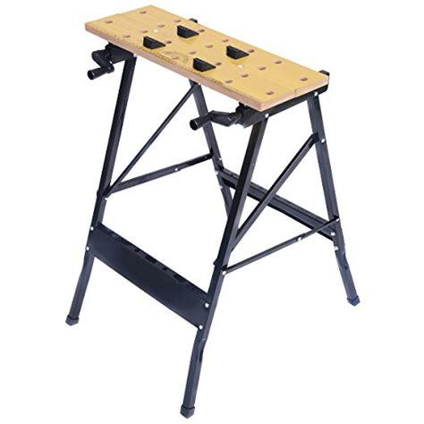 portable tool bench goplus goplus folding work bench steel table garage